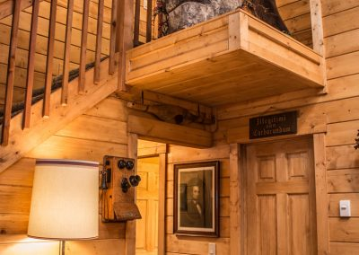 cabin-complete-remodel-stairway-landing-hall-bear-florissant-co