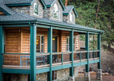 Custom Log Cabin