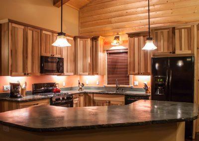 Custom Cabin Kitchen