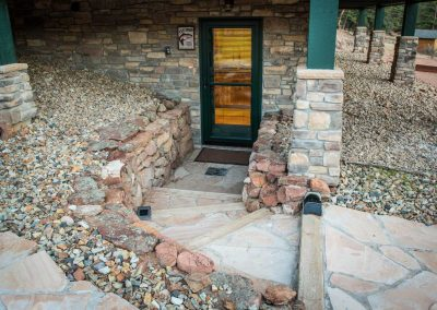 Basement Entrance to Cabin